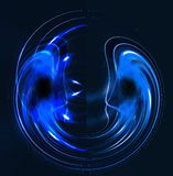 Abstract luminous background Stock Image