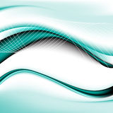 Abstract luxury background with wave Stock Images