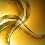 Abstract luxury background with wave Stock Photography