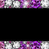 Abstract Luxury Black Diamond Background Vector Stock Photos