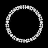 Abstract Luxury Black Diamond Background Vector Illustration Royalty Free Stock Image