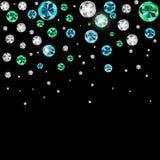 Abstract Luxury Black Diamond Background Vector Illustration Stock Photos