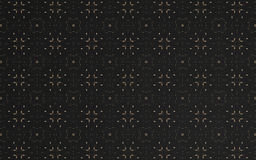 Abstract luxury black pattern background. And circle textile Stock Photos