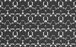 Abstract luxury black pattern background. And abstract textile Stock Images
