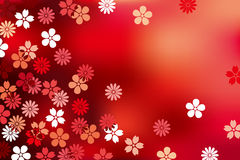 Abstract Luxury Blossom Background. Illustration Stock Image
