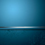 Abstract luxury blue background Royalty Free Stock Image