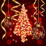 Abstract luxury christmas. Illustration Stock Photography