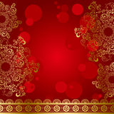 Abstract luxury frame royalty free illustration