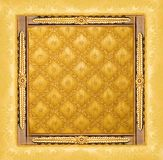 Abstract luxury golden border Royalty Free Stock Photo