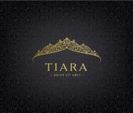 Abstract luxury, royal golden company logo icon vector design. stock illustration