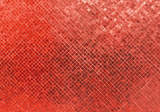 Abstract Luxury Shiny Red Tone Wall Flooring Tile Glass Seamless Pattern Mosaic Background Texture for Furniture Material Royalty Free Stock Photography