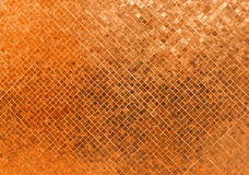 Abstract Luxury Shiny Rusty Orange Wall Flooring Tile Glass Seamless Pattern Mosaic Background Texture for Furniture Material Art Royalty Free Stock Image