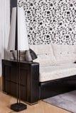 Abstract luxury sofa stock image