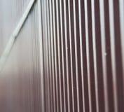 abstract m et al op englan het traliewerkstaal en achtergrond van Londen Stock Afbeeldingen