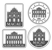 Abstract Macau Stock Image