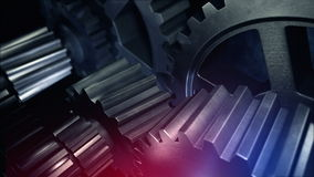 Abstract machine part stock footage