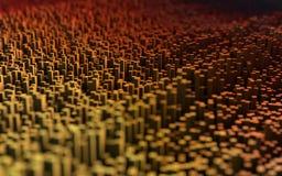Abstract macro city Royalty Free Stock Photography