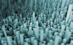 Abstract macro city Stock Photos