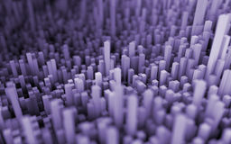 Abstract macro city Stock Images