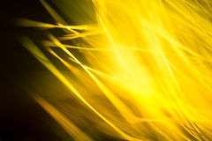 Abstract macro of fur in yellow tones. Stock Image
