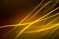 Abstract macro of fur in yellow tones. Stock Photo