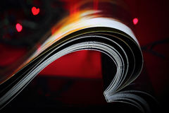 Abstract magazine love Royalty Free Stock Image