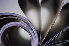 Abstract - magazine Stock Image