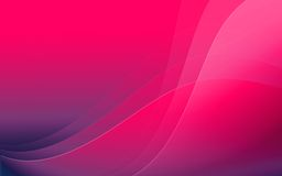 Abstract magic background. Wallpaper in pink colors with waves Royalty Free Stock Images
