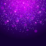 Abstract magic bokeh background Royalty Free Stock Photo
