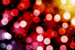 Abstract magic bokeh background with flare Stock Photography