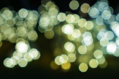 Abstract magic bokeh background with glittering stars and flare royalty free stock image