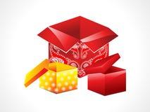 Abstract magic box set Royalty Free Stock Images