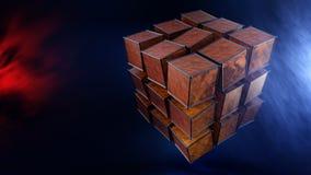 Abstract Magic Boxes Royalty Free Stock Image