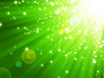 Abstract magic light background Stock Image