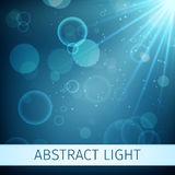 Abstract magic light background Stock Images