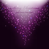 Abstract magic light background. Royalty Free Stock Image