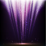Abstract magic light background Stock Photos