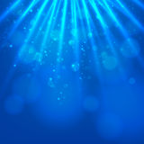 Abstract magic  light background Royalty Free Stock Photography