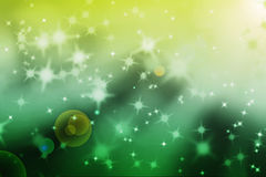 Abstract magic light rays background. With glowing star particles Stock Illustration