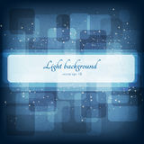 Abstract magic lights background. Good template Royalty Free Stock Images