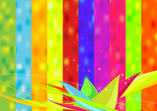 Abstract magic nature explosion Royalty Free Stock Images