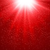 Abstract magic red light background Royalty Free Stock Images