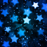 Abstract magic star background Royalty Free Stock Images