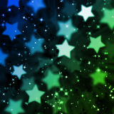 Abstract magic star background Stock Image
