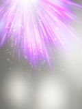 Abstract magic violet light background. EPS 10. Vector file included Stock Photos