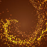 Abstract magical shimmering glow background Royalty Free Stock Photos