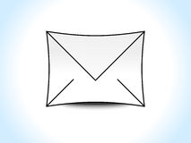 Abstract mail icon Royalty Free Stock Photos