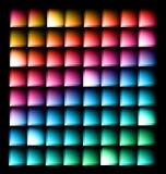 Abstract malplaatje als achtergrond Stock Afbeelding