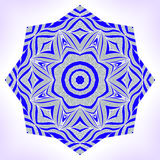 Abstract mandala. Abstarct mandala. Ornament can be used as a greeting card royalty free illustration