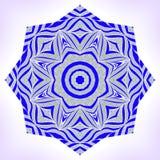 Abstract mandala. Abstarct mandala. Ornament can be used as a greeting card Royalty Free Stock Photo